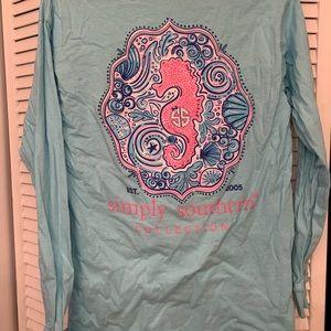 Simply southern shirt medium